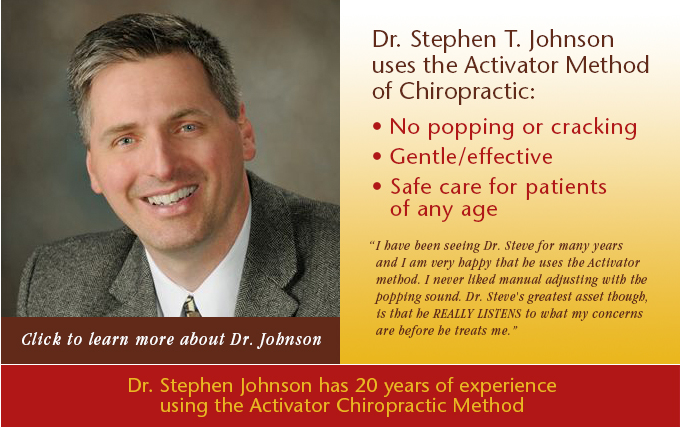 Stephen Johnson Chiropractic Wellness Center